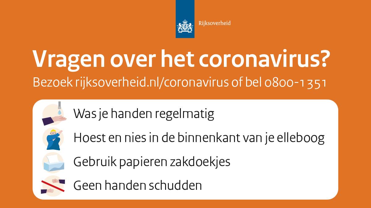 Corona informatie