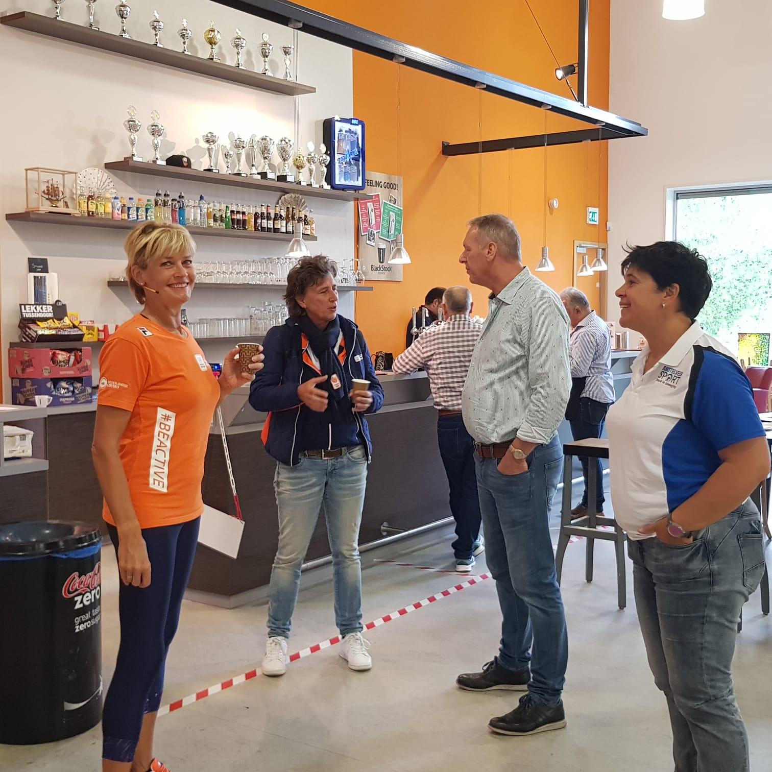 Nationale Sportweek Amstelveen druk bezocht